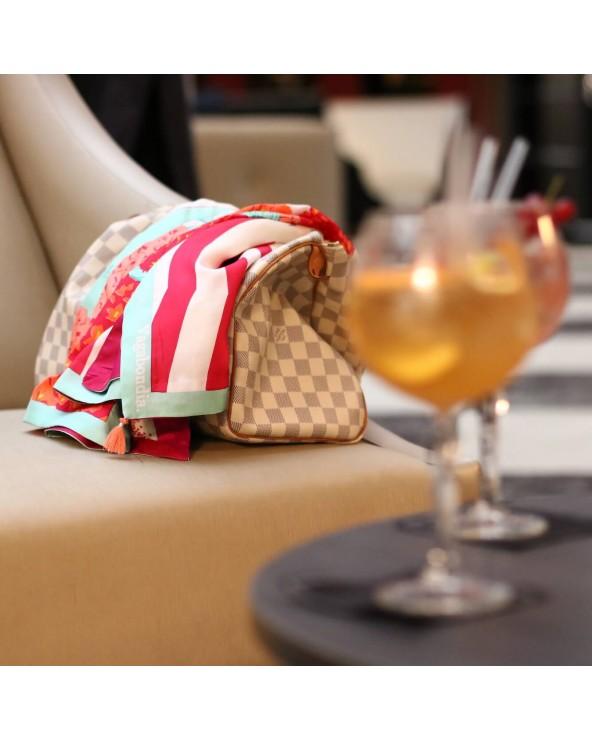 Foulard Biarritz posé et cocktails